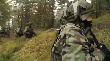 Военные учения польской армии