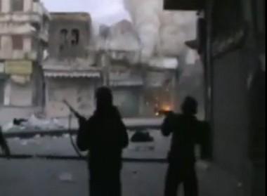 Сирия перестрелка